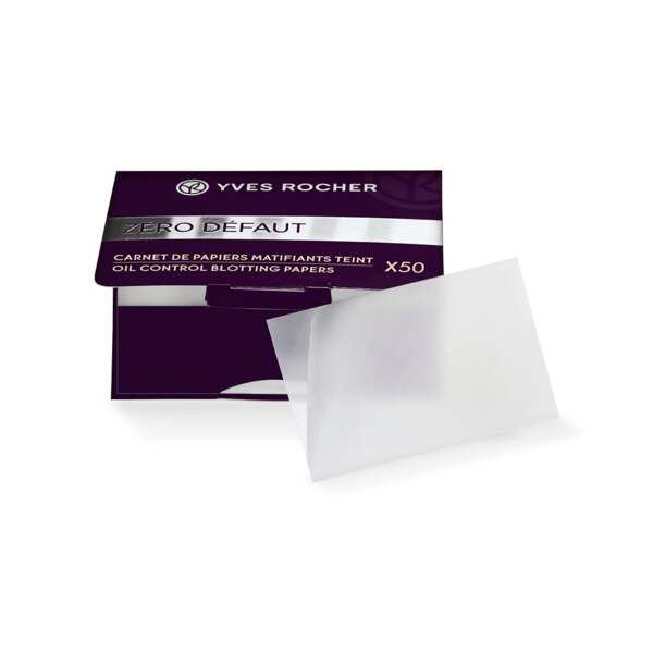 Mattifying Blotting Papers, Expert make-up, 50 stuks, Teint, Make-up