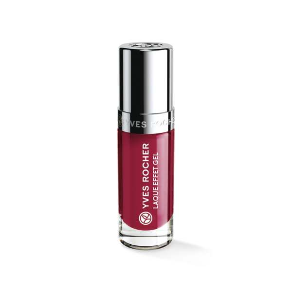 Nagellak met Gel Effect Framboise intense, Expert make-up, Flacon 5 ml, Nagellak, Nagels, Make-up