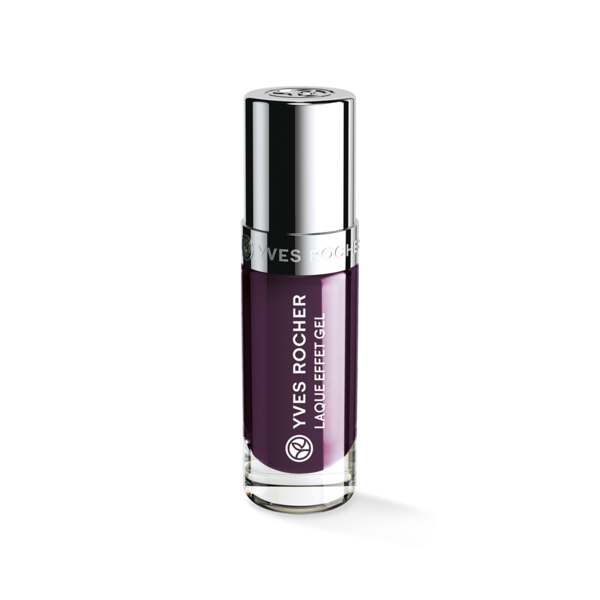 Nagellak met Gel Effect Aubergine profond, Expert make-up, Flacon 5 ml, Nagellak, Nagels, Make-up