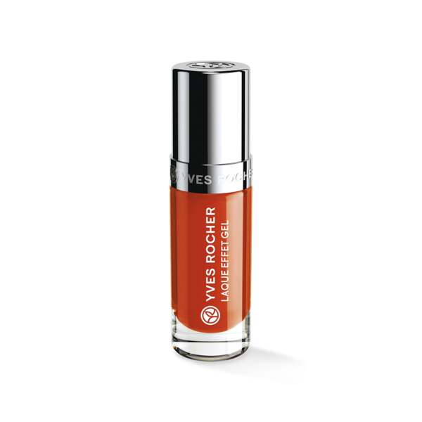 Nagellak met Gel Effect Orange sanguine, Expert make-up, Flacon 5 ml, Nagellak, Nagels, Make-up