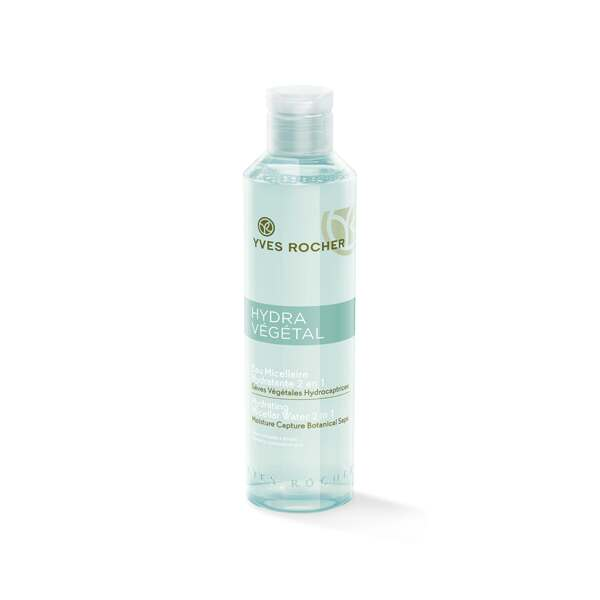 Hydraterende Micellaire Reinigingslotion 2-in-1, Hydra Végétal, Flacon 200 ml, Vochtarme huid, Gezichtsverzorging