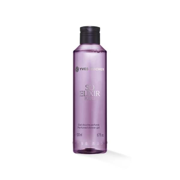 So Elixir Purple - Geparfumeerde Douchegel, So Elixir Purple, Flacon 200 ml, Bloemige douchegels, Lichaamsverzorging