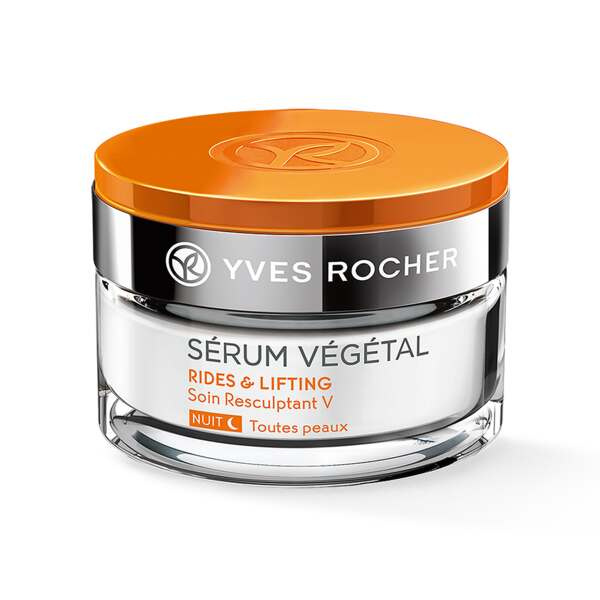 V-Shaping Nachtcrème, Sérum Végétal, Pot 50 ml, Anti-Age, Gezichtsverzorging
