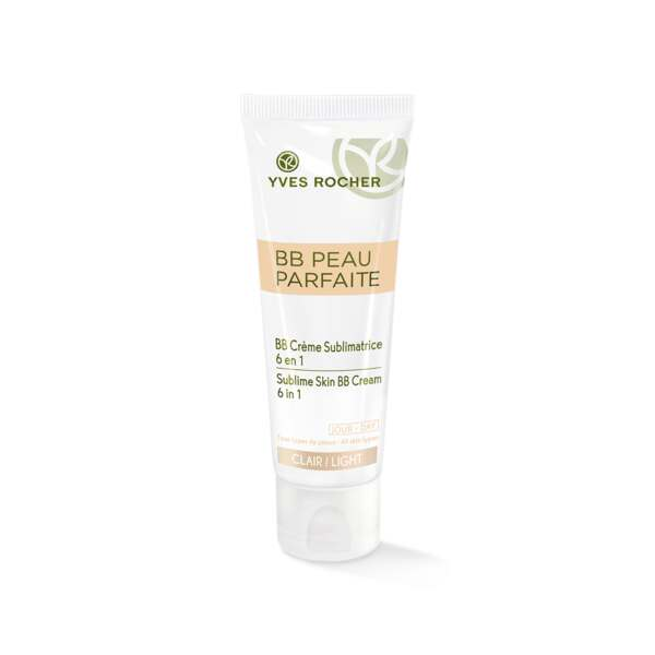 Perfectionerende BB cream 6-in-1, tube 50 ml, Yves Rocher.