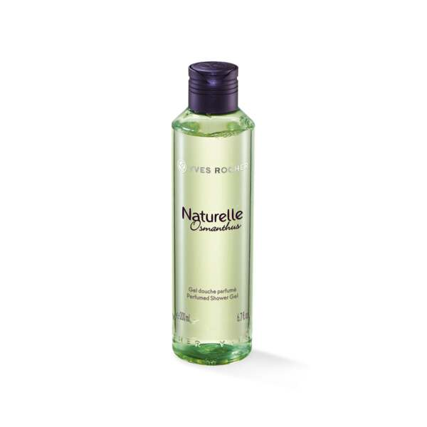 Naturelle Osmanthus - Geparfumeerde bad- en douchegel, Naturelle Osmanthus, Flacon 200 ml, Frisse douchegels, Lichaamsverzorging